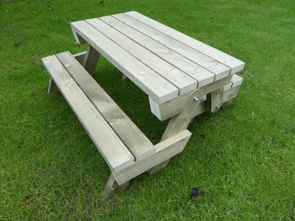 Opklapbare picknicktafel voor uw peuter