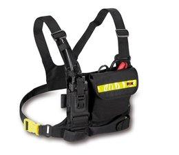 Complete harness set PAX-Dura, zwart