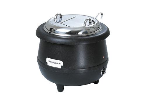 Bartscher Soeppan Gourmet, 10L, zwart