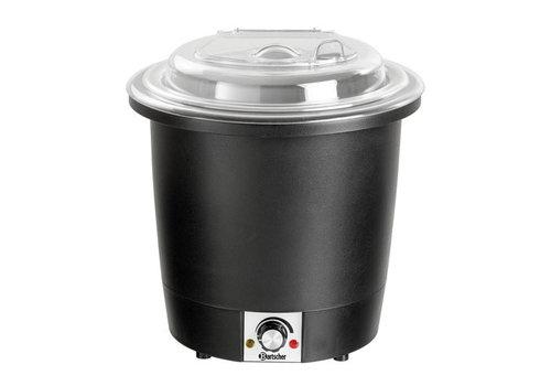 Bartscher Soeppan, 10L, zwart