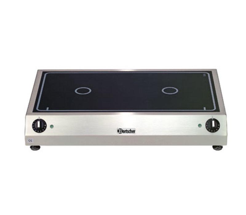 Elektrische kookplaat 2K6000 GLN