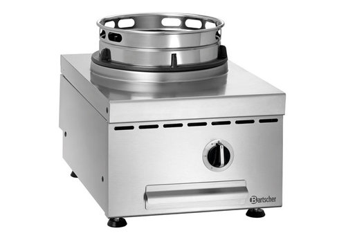 Bartscher Gas wok-tafelplaat GWTH1