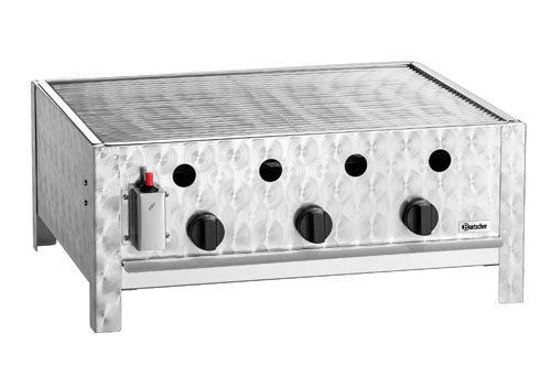 Bartscher Gas-tafelbraadgrill TB1000R