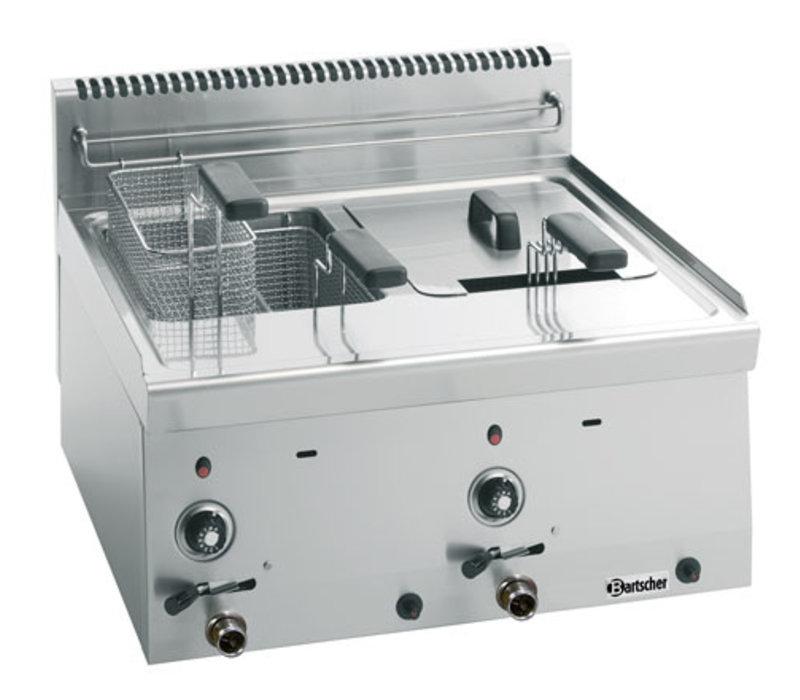 Friteuse Gas 600, B600, 2x8L