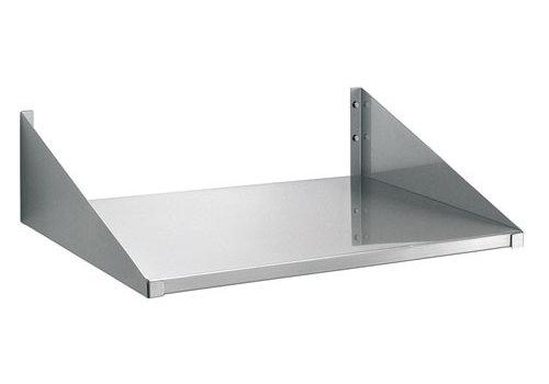 Bartscher Wandplank 520x400mm, CNS