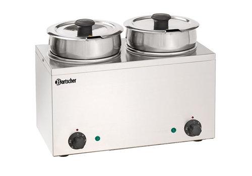 Bartscher Bain-Marie Hotpot, 2x pan, 3,5 L