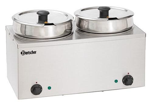 Bartscher Bain-Marie Hotpot, 2x pan, 6,5 L