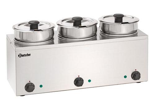 Bartscher Bain-Marie Hotpot, 3x pan, 3,5 L