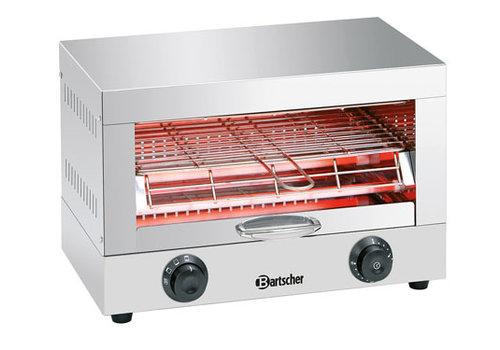 Bartscher Toaster - gratineeroven, enkel