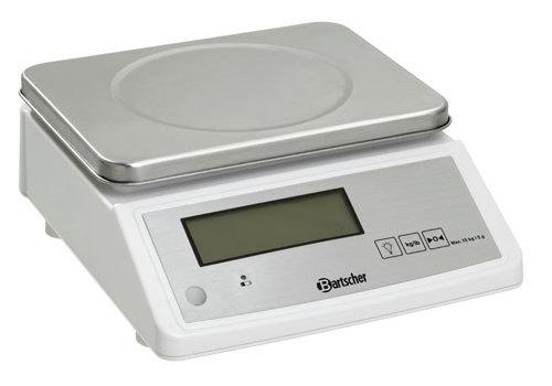 Bartscher Keukenweegschaal, 15kg, 5g