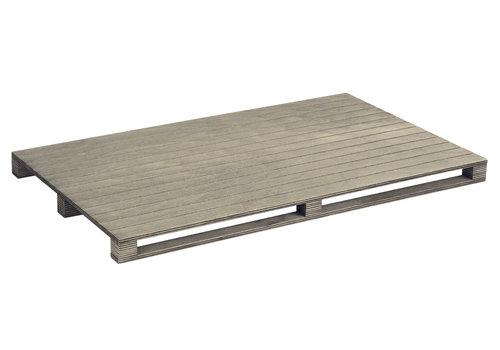 "APS-Germany GN Serveerplank ""Genusspalette"" | 1/1GN | Berkenhout | 53 cm x 32.5 cm x H 3 cm"
