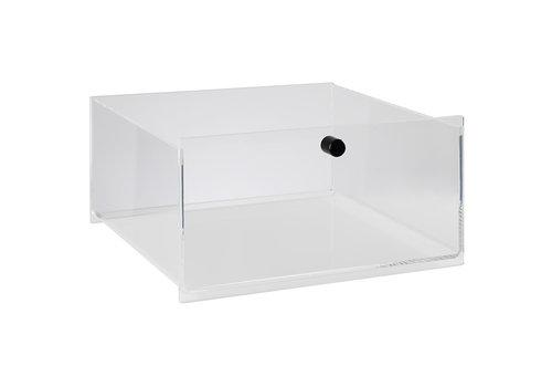 APS-Germany Schuiflade | Acryl | 34 cm x 32 cm x 17.5 cm | Zwart | Passend voor 00910