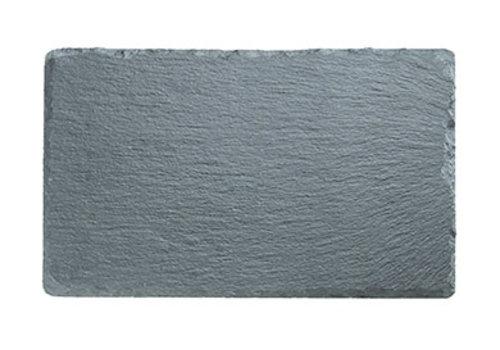 APS-Germany Natuursteen plateau | Leisteen | 24 cm x 15 cm x H 6-9 mm