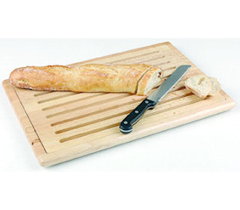 Broodsnijplank   Hout   47.5 cm x 32 cm x H 2 cm