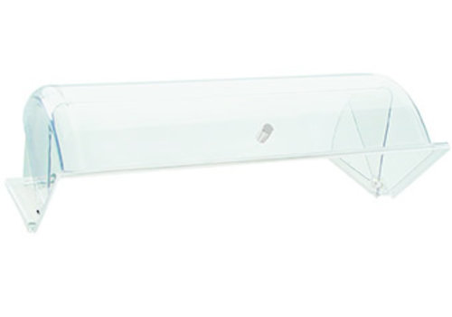 APS-Germany Rolltop deksel | SAN | 44 cm x 33.5 cm x H 17 cm | Transparant