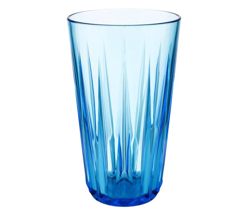 "Drinkbeker ""Crystal"" | Tritan | Ø 9 cm x H 15.5 cm | 0.50 liter | Blauw"
