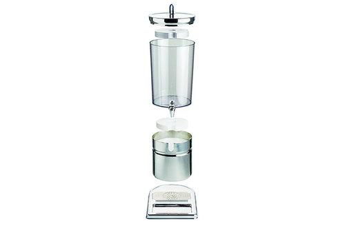 "APS-Germany Sapdispenser ""Top Fresh""   RVS SAN   23 cm x 35 x H 52 cm   6 liter   2 koelelementen"