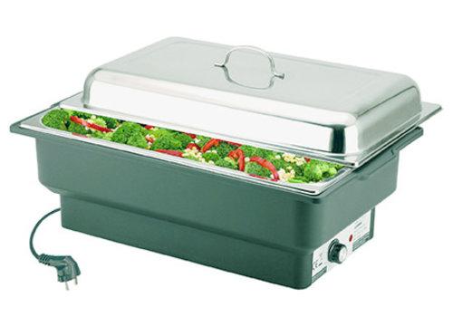"APS-Germany Chafing Dish ""Eco""   Elektrisch   1/1GN   RVS   63 cm x 36 cm x H 29 cm   9 liter"