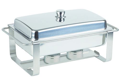 """APS-Germany Chafing Dish """"Caterer Pro""""   GN 1/1   RVS   64 cm x 35 cm x H 34   7.50 liter"""