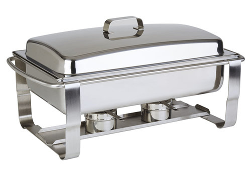 """APS-Germany Chafing Dish """"Caterer""""   1/1GN   RVS   67 cm x 35 cm x H 35 cm   9 liter"""