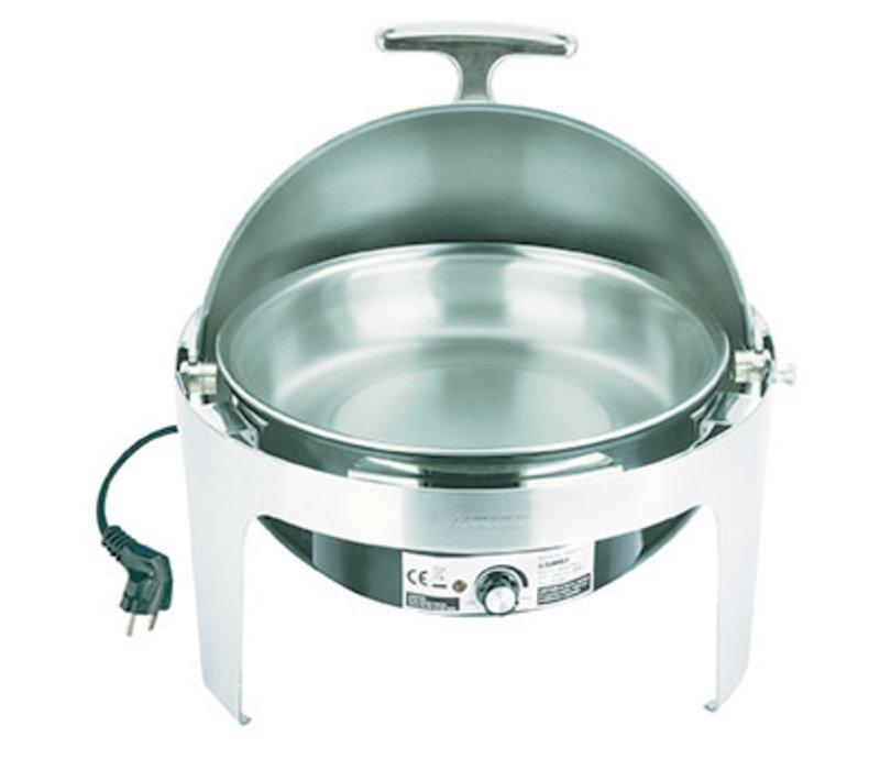 """Chafing Dish """"Elite""""   RVS   Rolltop   Electrisch   Ø 45 cm x H 43.5 cm   6.8 liter"""