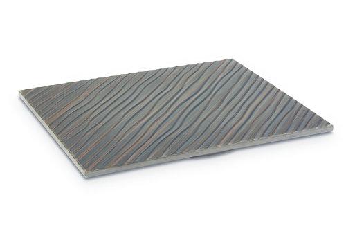 """APS-Germany Plateau """"APS+ Tiles""""   Melamine   1/2 GN   32.5 cm x26.5 cm x 1.5 cm   Bruin"""