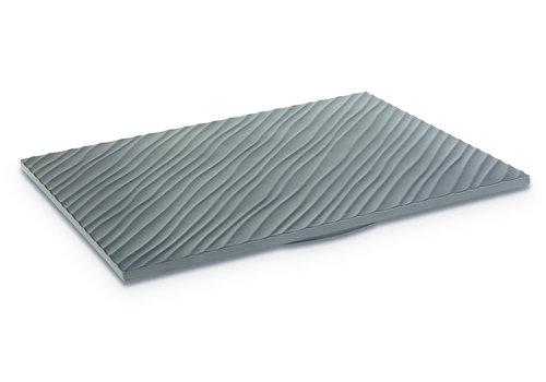 """APS-Germany Plateau """"APS+ Tiles""""   Melamine   1/2 GN   32.5 cm x 26.5 cm x 1.5 cm   Zwart mat"""