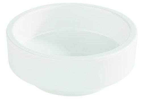 "APS-Germany Bento Box schaal ""Asia Plus""   Melamine   Ø 7.5 cm x H 3 cm   0.04 liter   Wit"