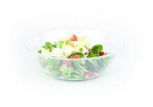 APS-Germany Saladeschaal | Polystyrol | Ø 30 cm x H 10 cm | 4 liter | Stapelbaar | Transparant