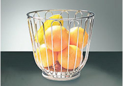 APS-Germany Fruitmand | RVS | Ø 21.5 cm x H 20.5 cm | Stapelbaar