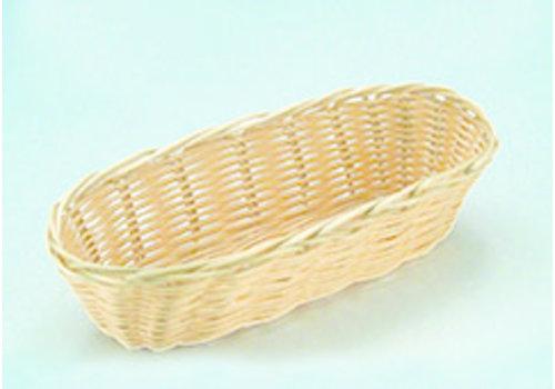 "APS-Germany Brood- en/of fruitmand ""Basic"" | PP | 21 cm x 10 cm x H 6 cm | Beige"