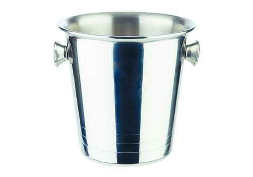APS-Germany Ijsemmer Mini/Sektkoeler Mini | RVS | Ø 13 cm x H 13 cm | 1 liter