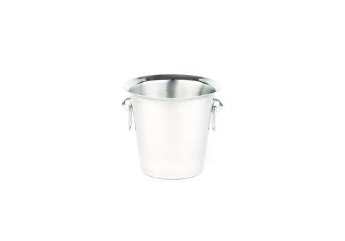 APS-Germany Wijnkoeler | RVS | Ø 20/15 cm x H 19 cm | 3 liter | Gepolijst