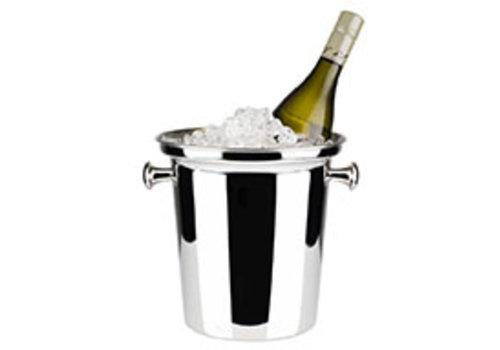 APS-Germany Wijnkoeler | RVS | Ø 21.5/16 cm x H 22 cm | 4 liter | Binnen mat/buiten hoogglans