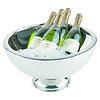 APS-Germany Champagnekoeler   RVS   Ø 44/25 cm x H 24 cm   10.5 liter   Dubbelwandig   Hoogglans gepolijst