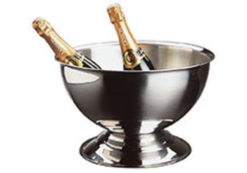 APS-Germany Champagnekoeler | RVS | Ø 40.5/27.5 cm x H 22.5 cm |13.5 liter | Hoogglans gepolijst