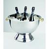 APS-Germany Champagnekoeler   RVS   Ø 42/27 cm x H 28 cm   20 liter   Buiten hoogglans gepolijst/Binnen mat