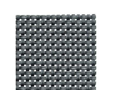 APS-Germany Placemat   Fijne band   PVC   45 cm x 33 cm   verpakt per 6 stuks   Zwart