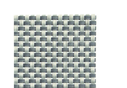 APS-Germany Placemat   Fijne band   PVC   45 cm x 33 cm   verpakt per 6 stuks   Zilvergrijs