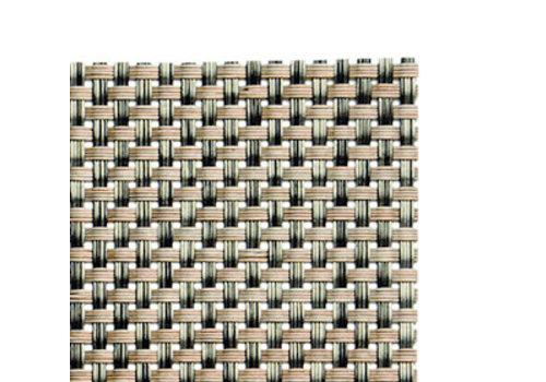 APS-Germany Placemat   Fijne band   PVC   45 cm x 33 cm   verpakt per 6 stuks   Beige/Bruin