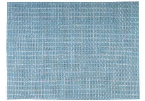 APS-Germany Placemat   Fijne band   PVC  45 cm x 33 cm   verpakt per 6 stuks   Lichtblauw/wit