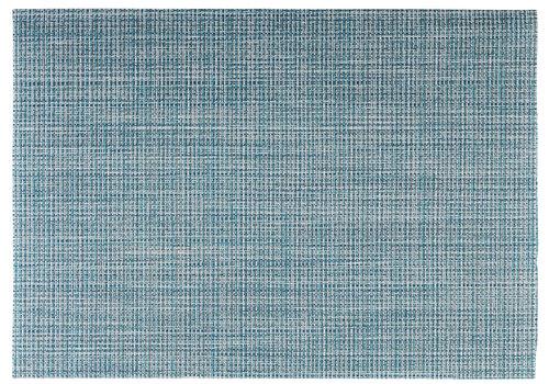 APS-Germany Placemat   Fijne band   PVC   45 cm x 33 cm   verpakt per 6 stuks   Turquoise/Groen/Wit