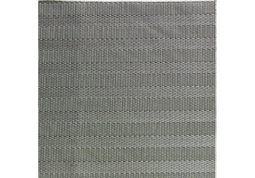 "APS-Germany Placemat ""Tao""   Fijne band   PVC   45 cm x 33 cm   verpakt per 6 stuks   Bruin"