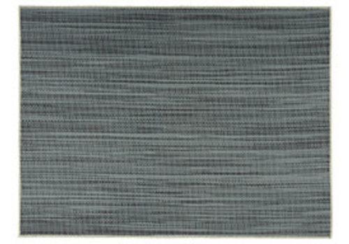 "APS-Germany Placemat ""Tao""   Fijne band   PVC   45 cm x 33 cm   verpakt per 6 stuks   Lichtblauw/DonkerBlauw"