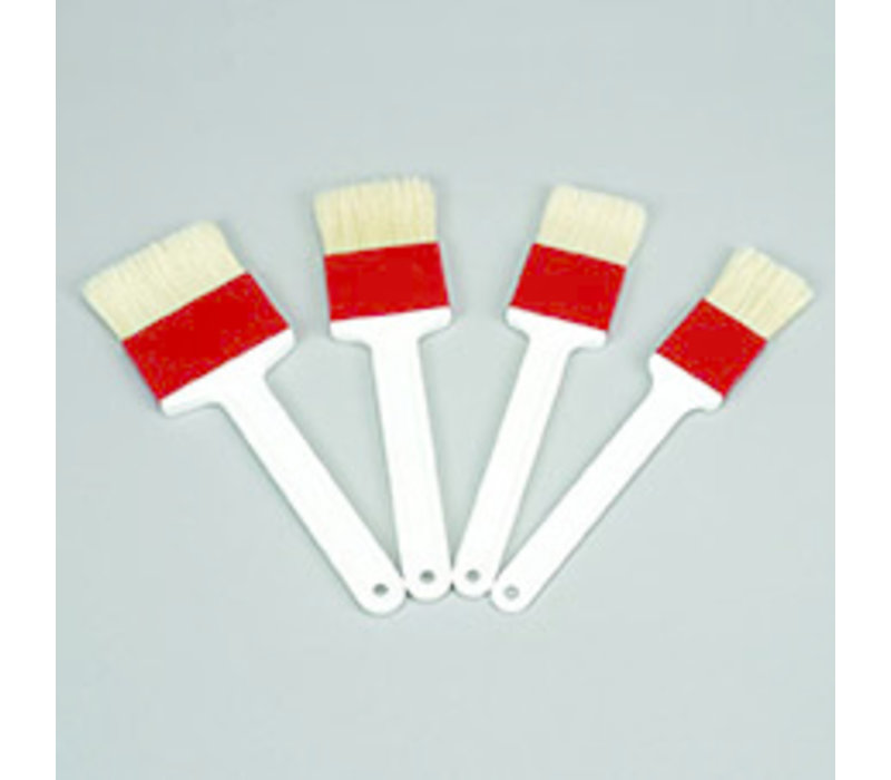 Bakkwast | Polyethyleen | 4 cm x 1 cm | Handgreep 23.5 cm