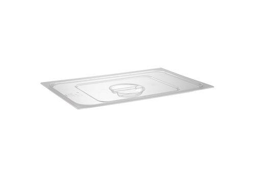 APS-Germany GN Deksel   1/1 GN   Polycarbonaat   53.5 cm x 32.5 cm   Transparant