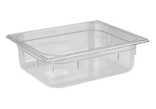 APS-Germany GN container   1/2 GN   Polycarbonaat   32.5 cm x 26.5 cm x H 10 cm   5.90 liter   Transparant