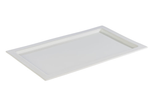"APS-Germany GN serveerplateau ""Frames""   1/1GN   Porselein   53 cm x 32.5 cm x H 2 cm"