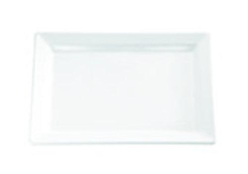 "APS-Germany Sushiplateau ""Pure"" | Melamine | 53 cm x 18 cm x H 3 cm | Wit"