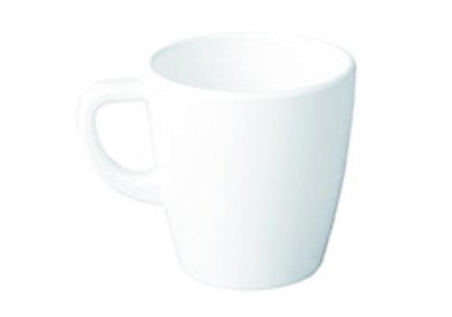 "APS-Germany Koffiemok ""Casual"" | Melamine | Ø 9.5 cm x H 10 cm | 0.40 liter | Wit"